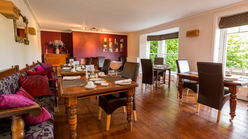 Breakfast at Malvern View – the luxury Cotswolds B&B